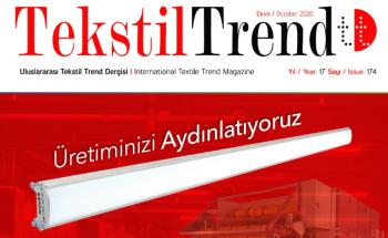 Tekstil Trend Ekim 2020 - Üretiminizi Aydınlatıyoruz