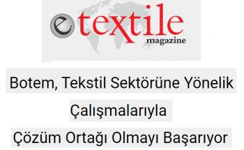 E-Textile Magazine Röportajimiz